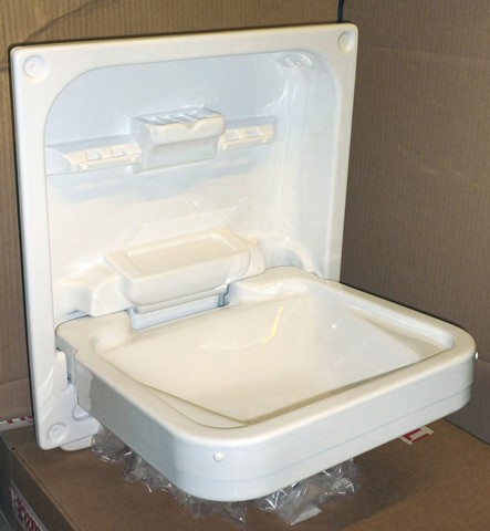 Flush Fit Swift Autocruise Cleo Tip Up Sink Trimmed Back